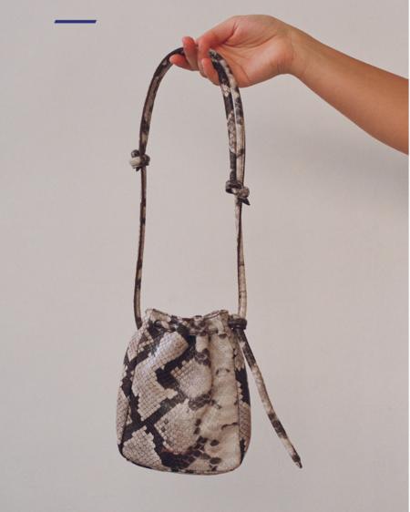 Paloma Wool Sanaga Bag in Snake