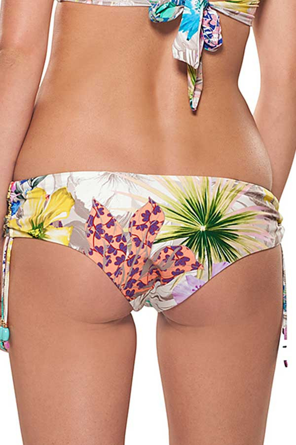 Estivo Floral Grays Beandeau Style Two Piece Top