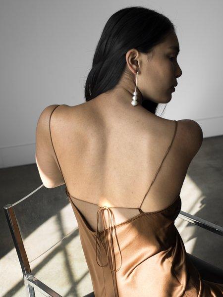 Pari Desai Sandoval Slip Dress - Bronze