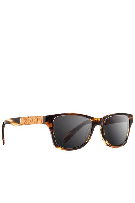 Unisex Shwood Canby Polarized Sunglasses - Tortoise Maple