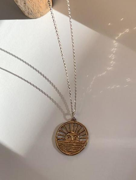 open house projects Sunrise Necklace