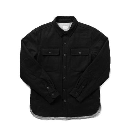 Bridge & Burn Russell Wool Jacket - Black