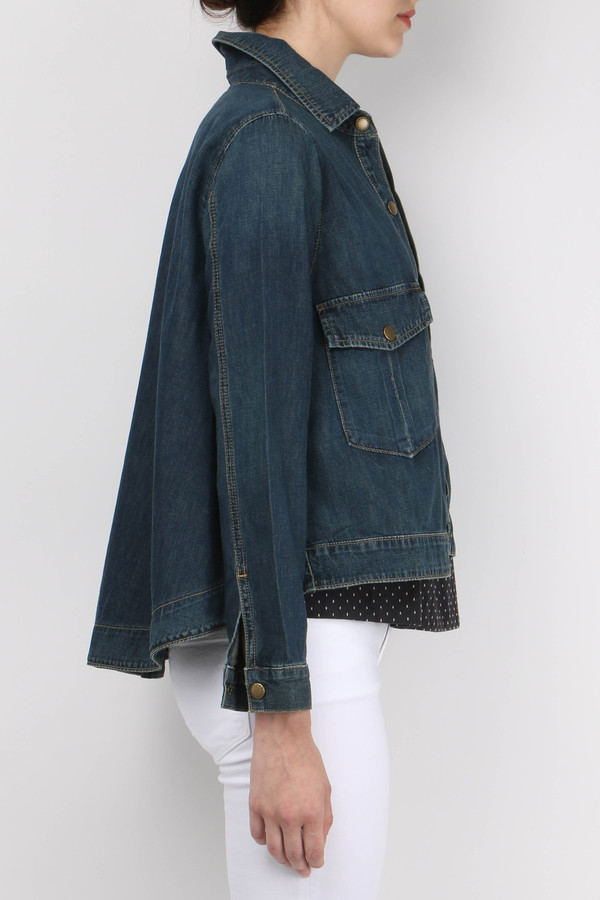 The Great The Swingy Jean Jacket