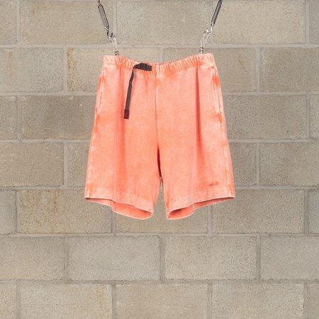 N.Hoolywood Acid Washed Shorts - Pink