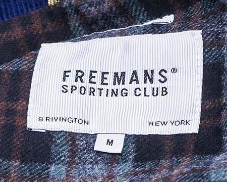 Freemans Sporting Club Isle of Man Parka - Navy