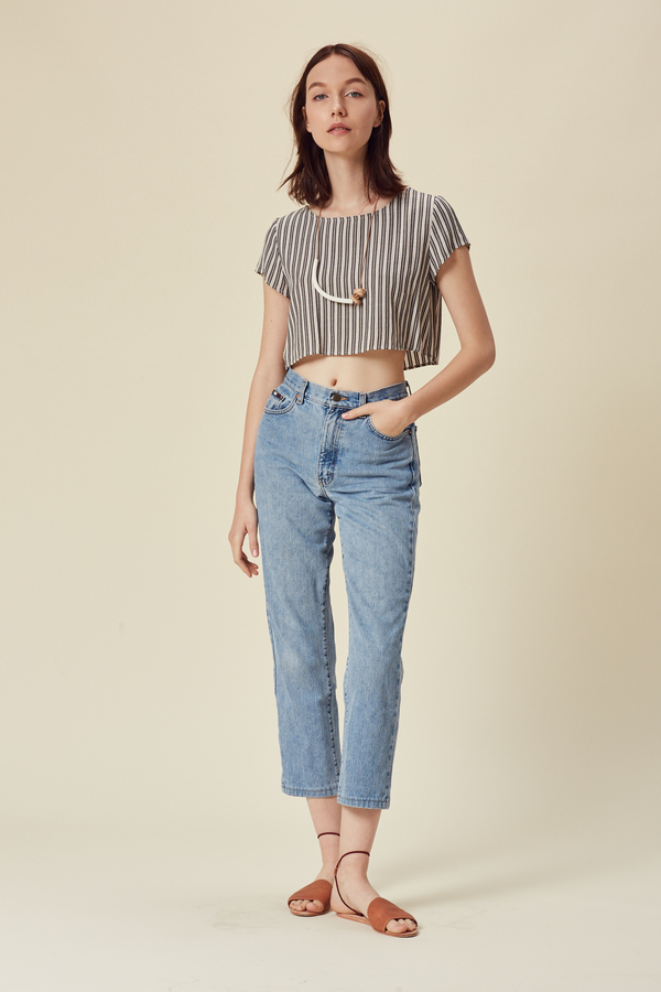 Stil. Ace Crop Top in Stripe