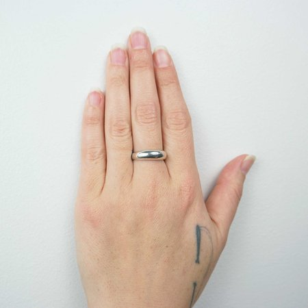 Seaworthy Setting Sun Ring - Silver