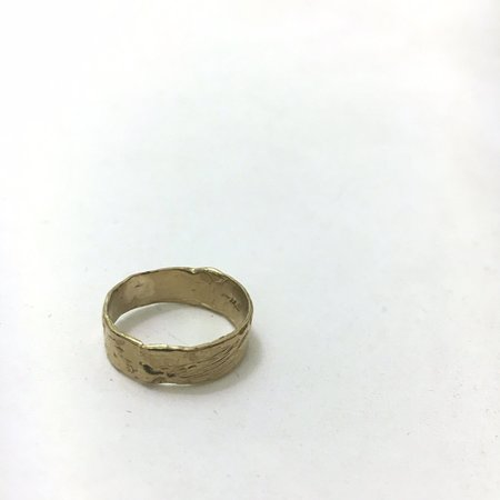 Unisex Monica Squitieri Jewelry Goleta Ring - Brass
