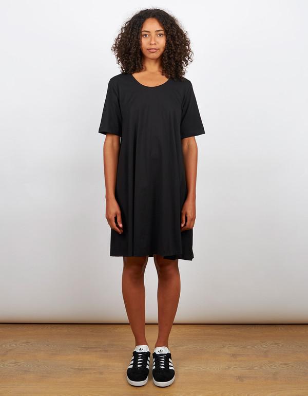 Kowtow Building Block Swing Dress Black