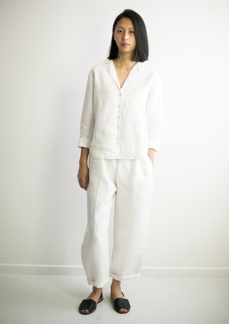 GOOD STUDIOS UNISEX HEMP LINEN PJ SUIT PANTS