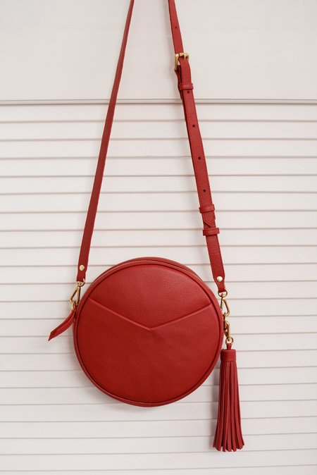 TAH Circle Bag - Red