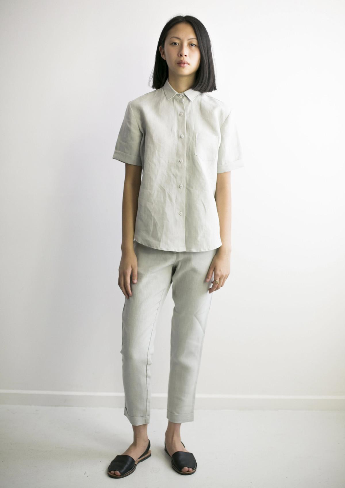 Linen Pants Suits For Women Www Topsimages Com