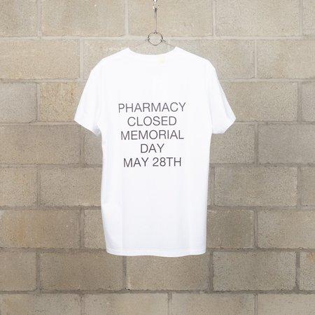 N.Hoolywood Pharmacy T-Shirt - White