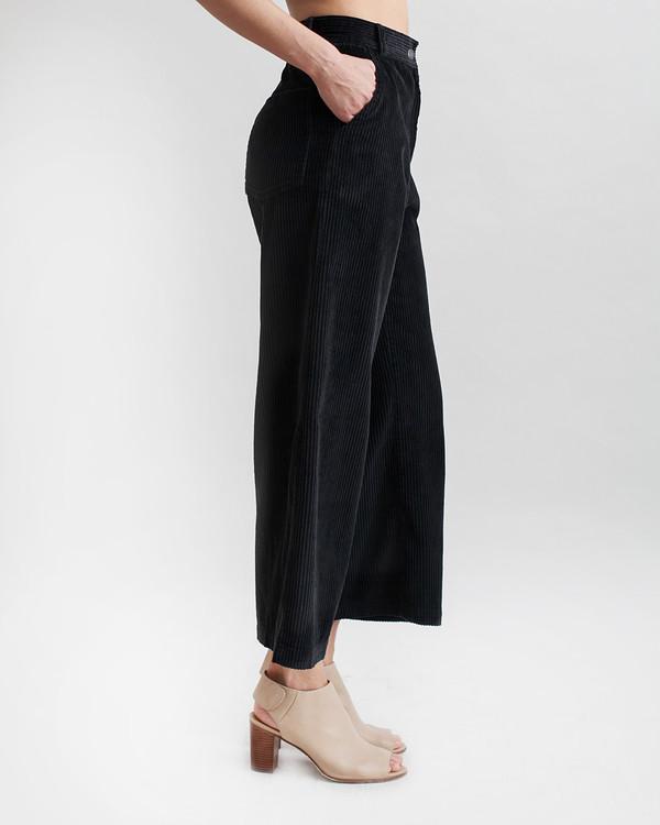 Rachel Comey Bishop Pant in Black Corduroy