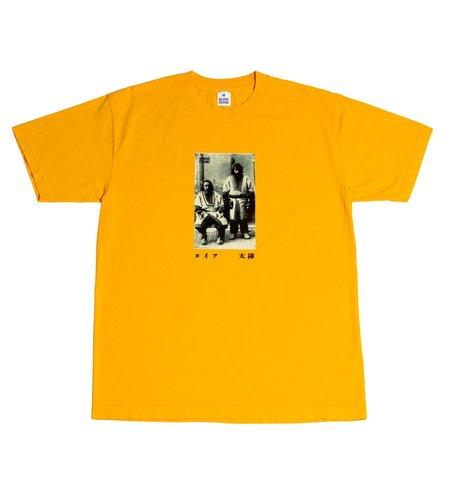 Surround Ainu Tee - Gold