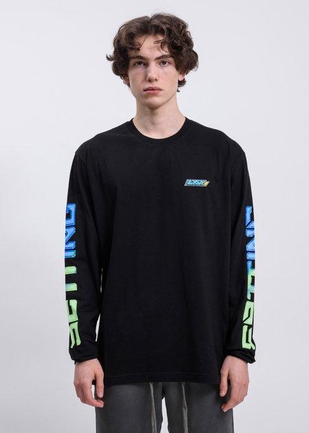 LXVI Chest Logo Long Sleeve T-shirt - Black