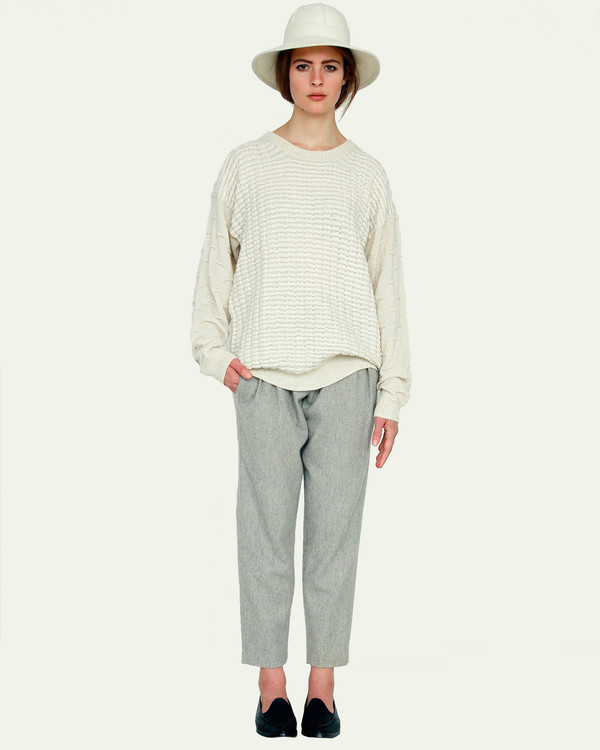 Suzanne Rae Crew Neck Sweater