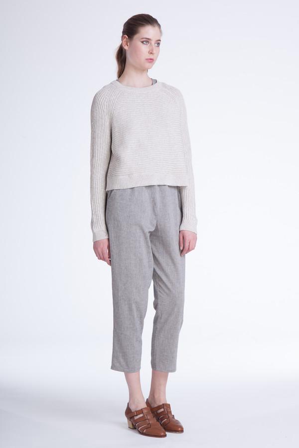 Ali Golden Grey melange sweater