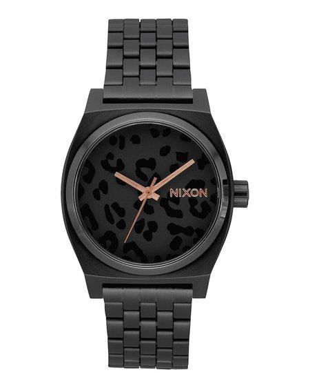 Nixon Time Teller Watch - All Black/Cheetah