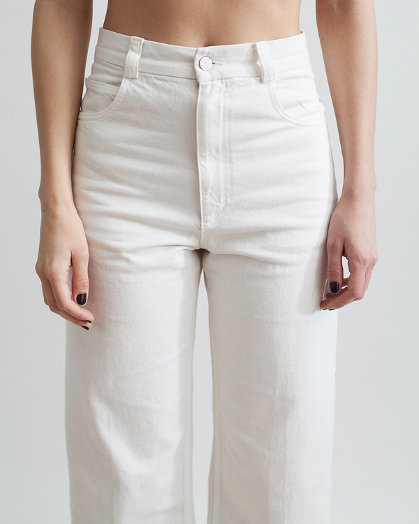Rachel Comey Legion Denim Pant in White