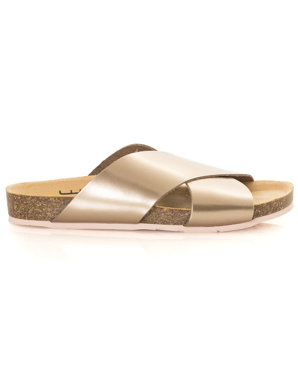 Charlotte Stone Luke Sandal in Metallic Twilight