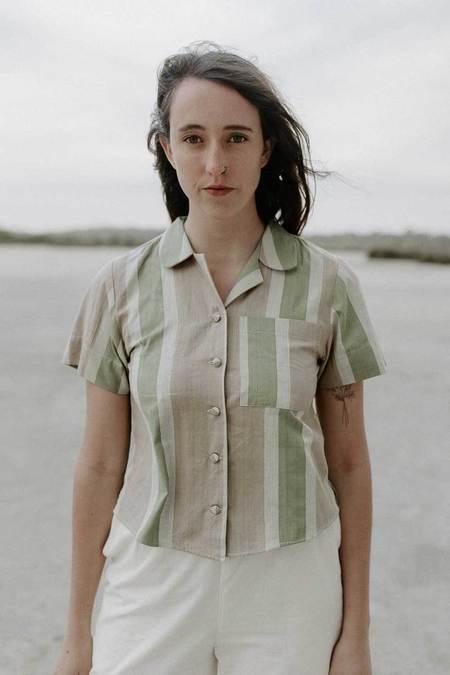 Rupahaus Leah Shirt - Rhubarb