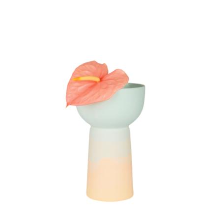 Peaches Pedestaled Bowl