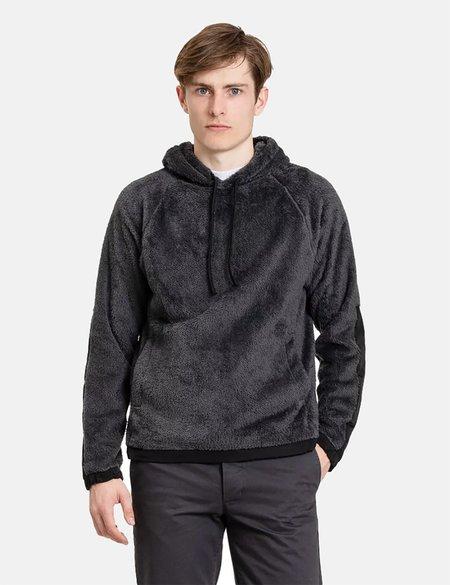 Norse Projects Tycho Hood Fleece Jacket - Slate Grey