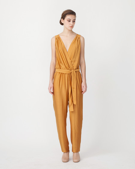 Sessun Victoire Jumpsuit in Mustard
