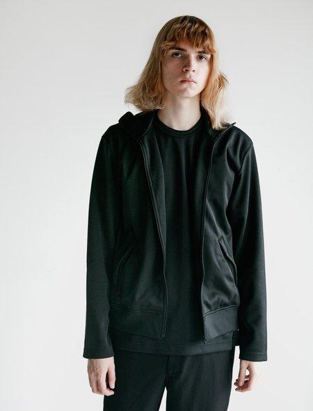 Comme des Garçons Homme Deux Poly Jersey Thick Jacket - Black