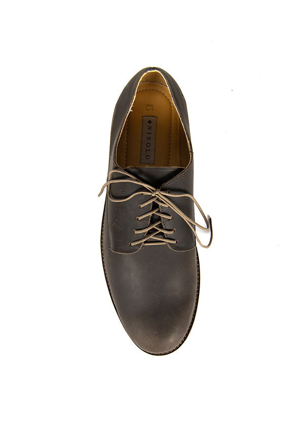 Men's Nisolo - Willan Oxford in Steel