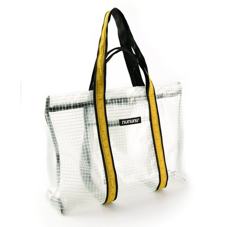 Kids Nununu See-through Beach Bag - Clear