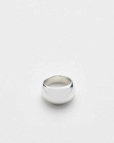 Luz Ortiz Dome Ring - Silver