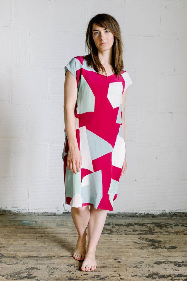 Wray Island Dress - Shard