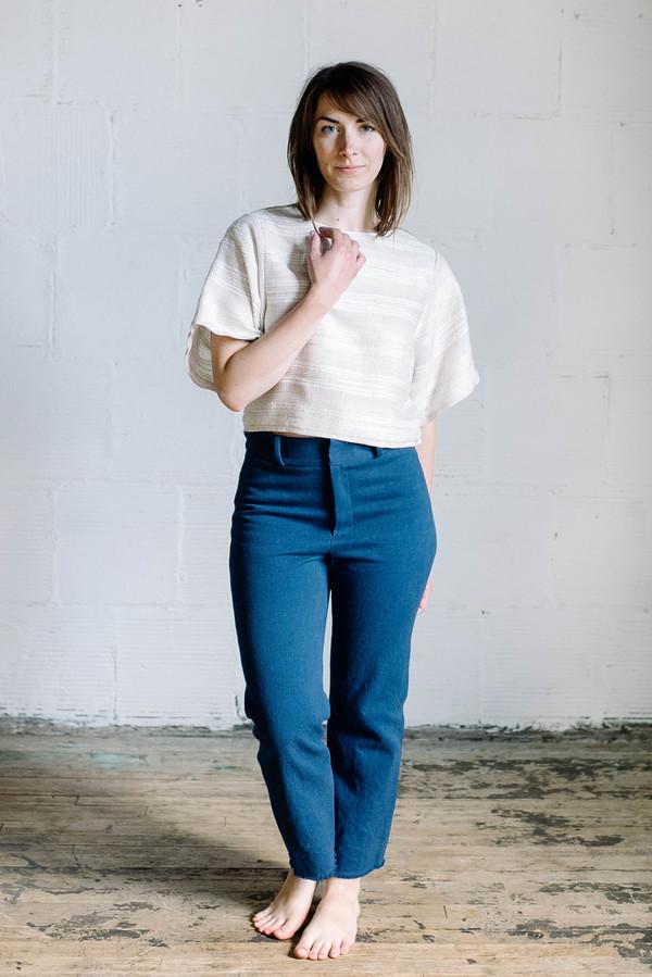 Megan Huntz June Top - Cream