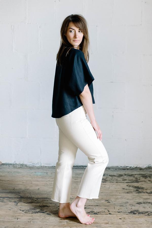 Megan Huntz June Top - Navy