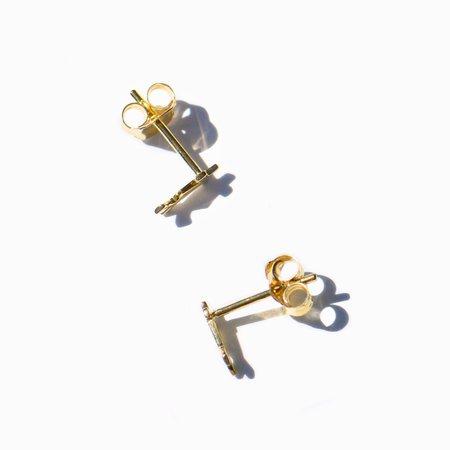 MING YU WANG Femme Earrings - 18K Gold Plated