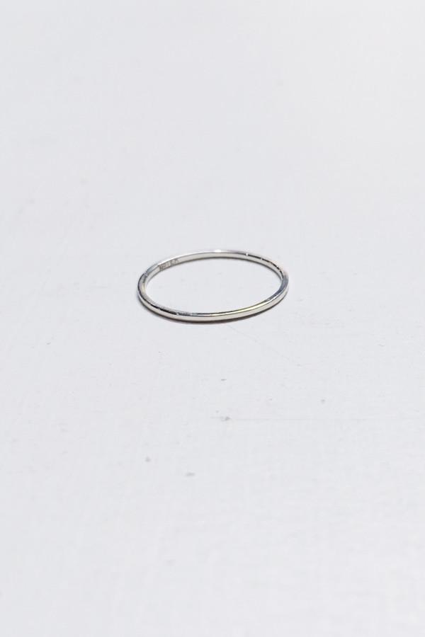 Bario Neal Milla Ultra Thin Band - Sterling Silver