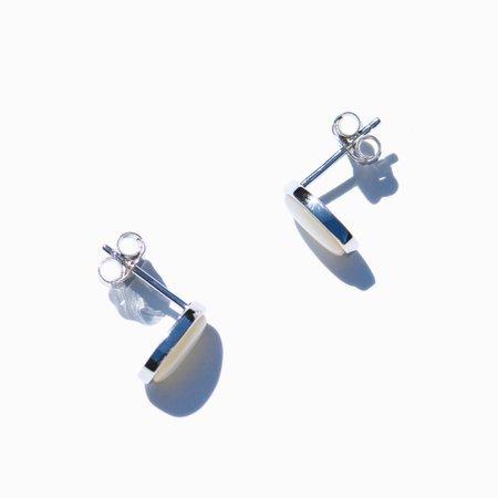 MING YU WANG Seed Earrings - Sterling Silver