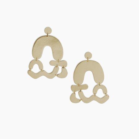 Poketo Abstract Earrings