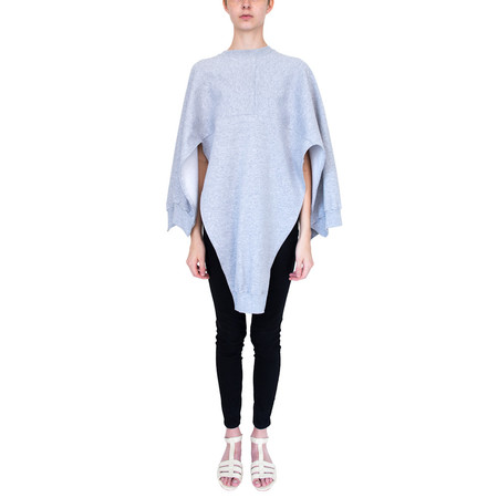 Slow And Steady Wins The Race Cape - Heather Grey