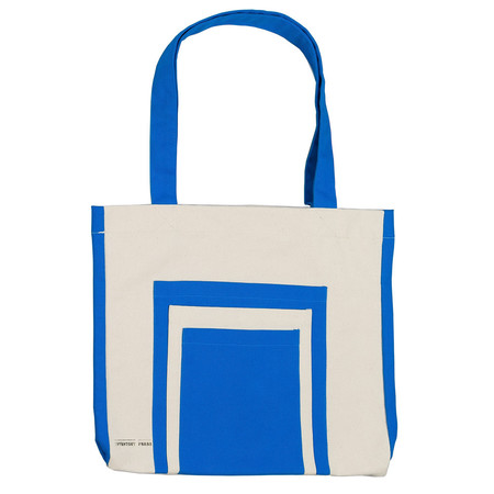 Slow and Steady Wins the Race Inventory Press Bag, Blue
