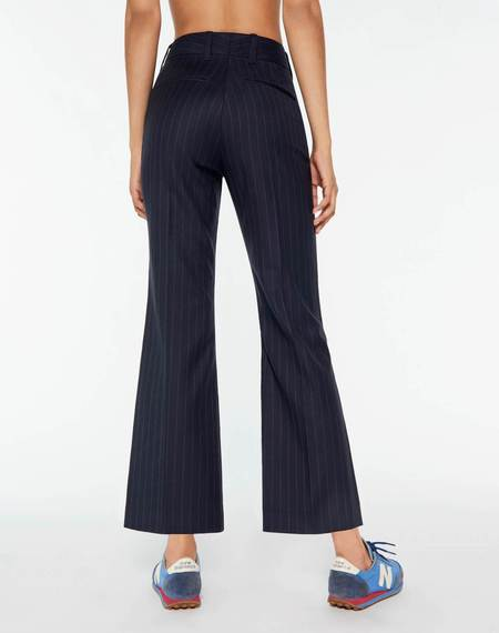 RE/DONE 70s Trouser - Navy Pinstripe