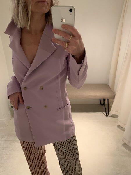 AERON Pernille Double Breasted Blazer - Lilac