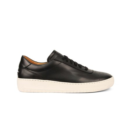 Unseen Footwear Clement Leather - Black
