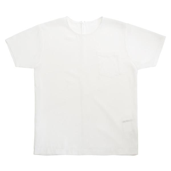 White T-Shirt in Silk