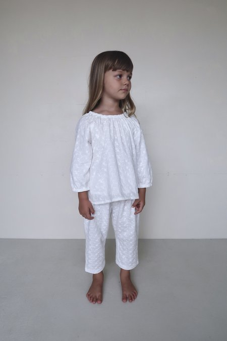 kids House Of Paloma Gigi Pant - white blossom