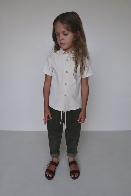 kids House Of Paloma Yves Corduroy Trouser - olive