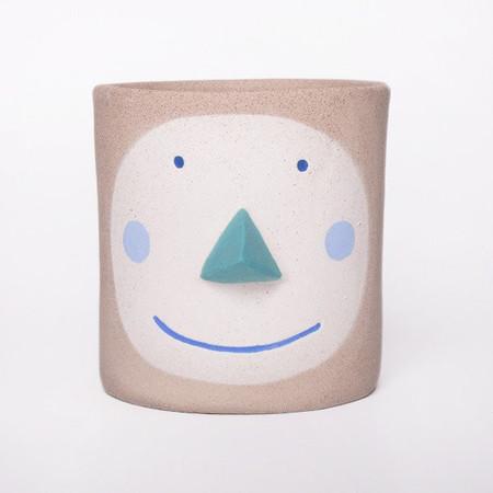 Group Partner Blue Pat Pot (Small)