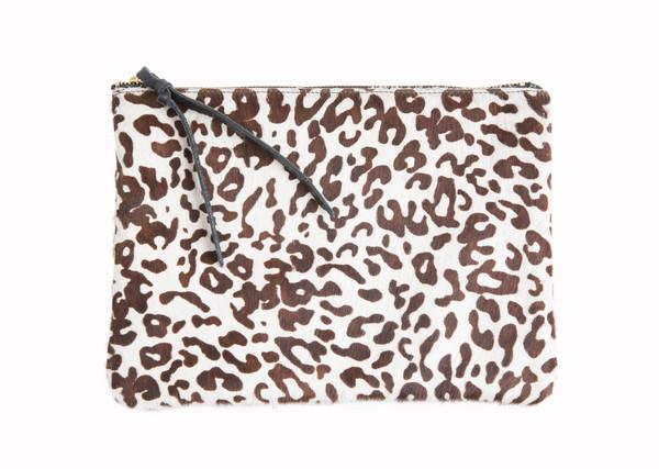Oliveve Queenie Leopard Hair Calf